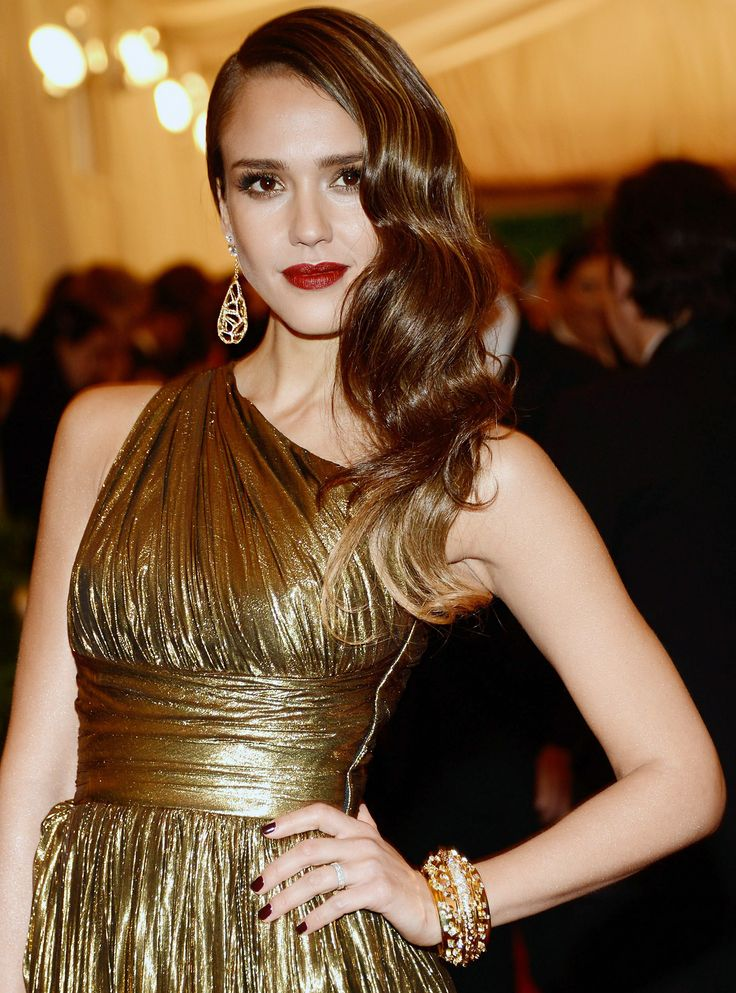 Hairstyles for one shoulder dresses pinterest