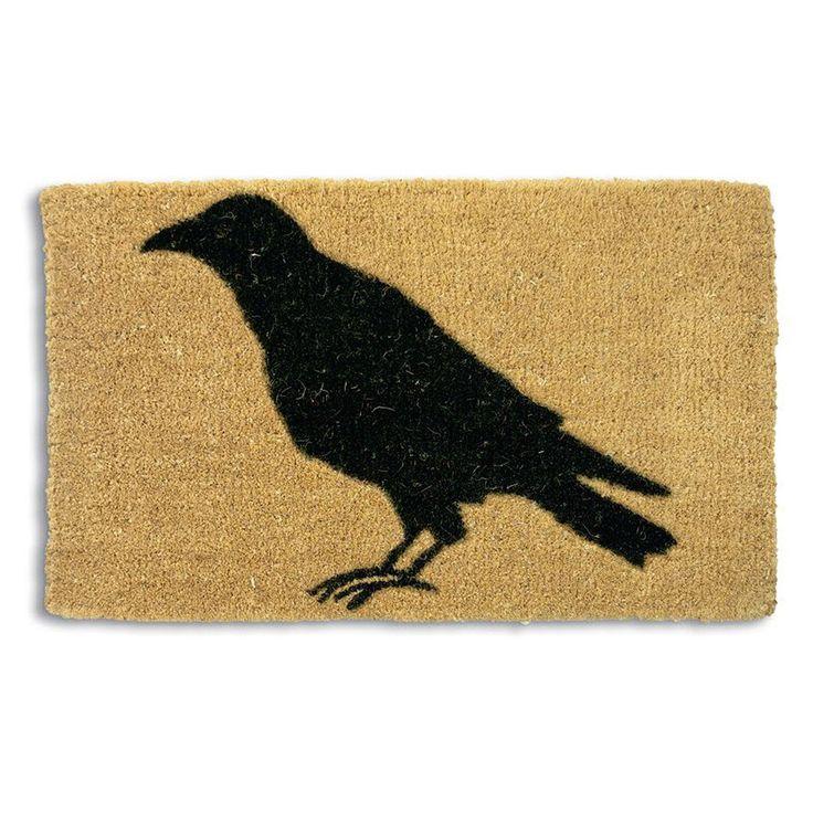 Tag Black Crow Coir Doormat | from hayneedle.com