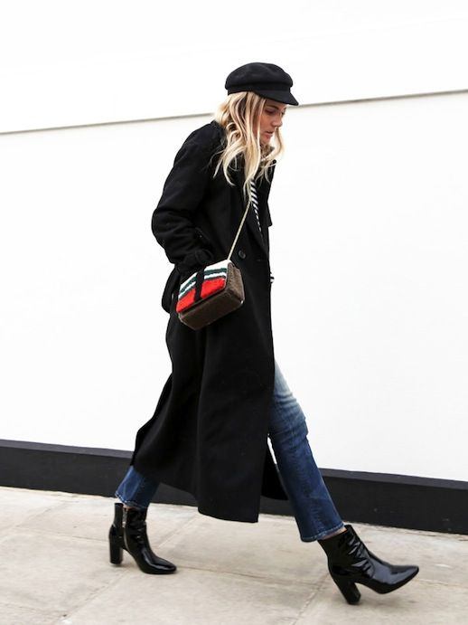 A Blogger's Way To Style A Black Trench Coat And Jeans   Le Fashion   Bloglovin'