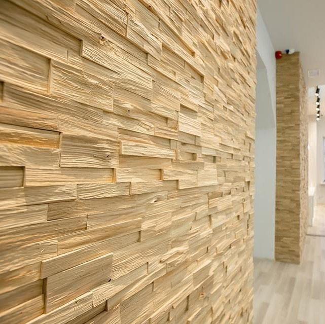 Pin Auf 3d Wandverkleidungen Holz