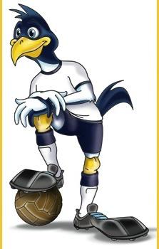 Tottenham Hotspur's mascot - Chirpy!  1991: Tottenham Hotspur 2 Nottingham Forest 1 (aet)