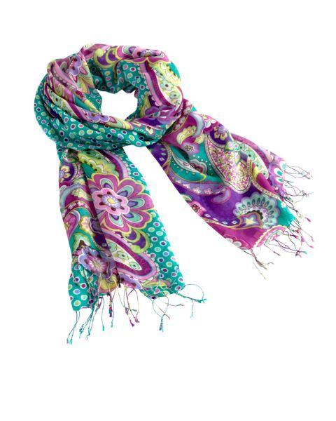 Fringe Scarf | Vera Bradley Fringe scarves  add a pop of color to your outfits!!