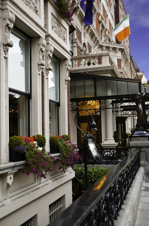 The Shelbourne Hotel, Dublin City This is a five star hotel and we loved it there.