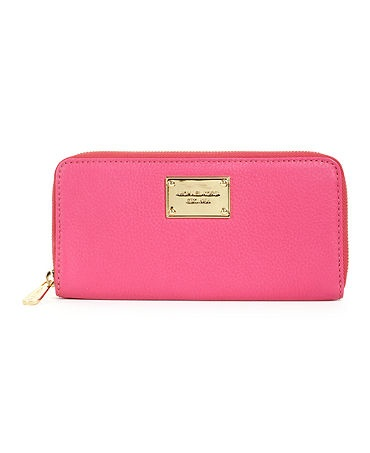 Every girl needs a bright pink wallet!