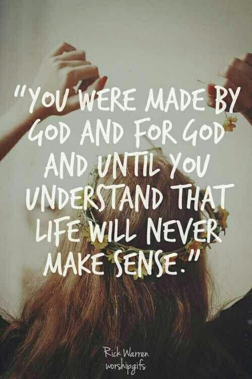 Made for God