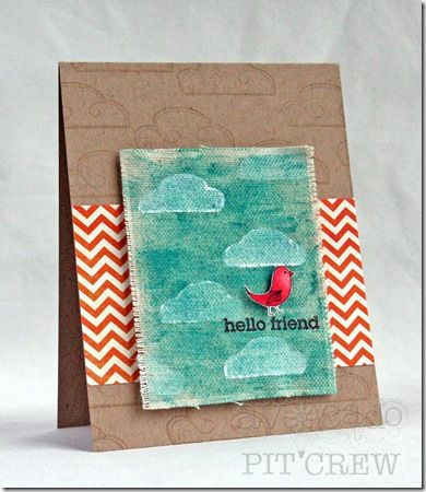 by Kimberly Crawford: Everyday Cards, Cute Cards, Cards Ideas, Art Cards, Cardmaking Galleries, Cards Just, Friends Kits, Cards Inspiration, Hello Friends