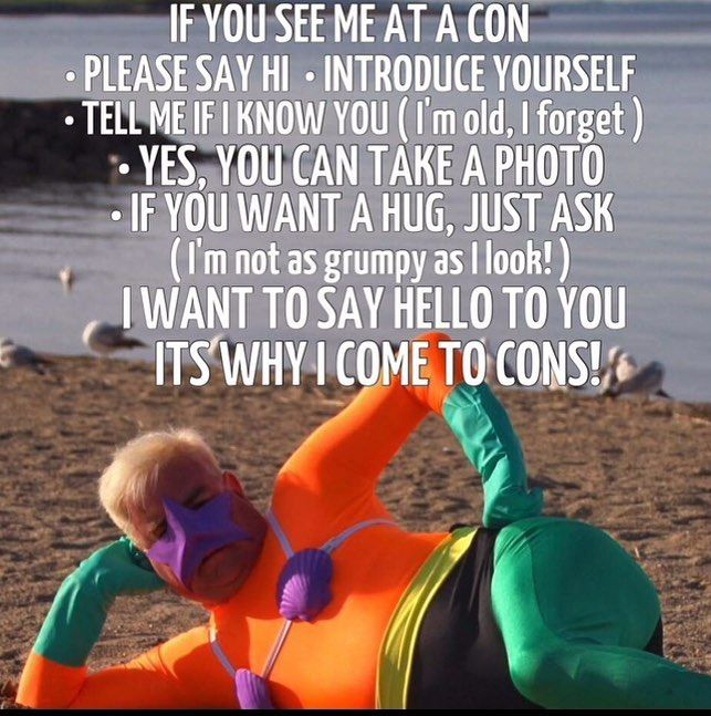 Today is my Friday as I take tomorrow off for final prep for @ricomiccon Mermaid Man will be swimming in Friday!  #MermaidMan #BarnacleBoy #SpongeBobSquarePants #Nickelodeon #ErnestBorgnine #BikiniBottom #ShadyShoalsRetirementHome #KrustyKrab  #Mermaid  #MermaidManAndBarnacleBoy #Cartoon #Cartoons #Cosplayer #Cosplaying #Cosplay #CosplayPhotography #CosplayLife #Costume #Costumes #CosplayersOfInstagram #CosplayDad #CosplayDadCosplay