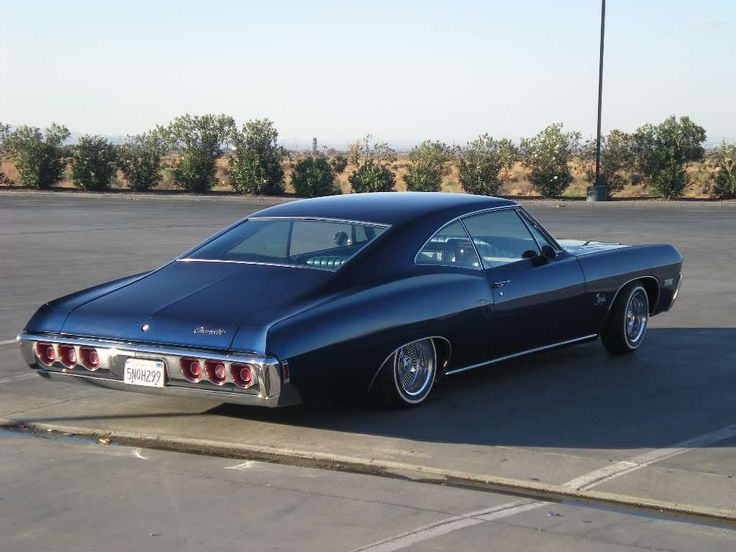 68 Impala Super Sport Fastback 327