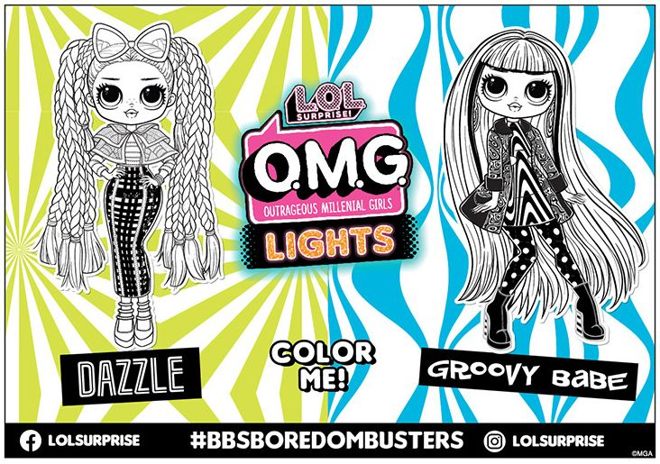 Lol Surprise Coloring Sheet Coloring Sheets Lol Collectible Dolls