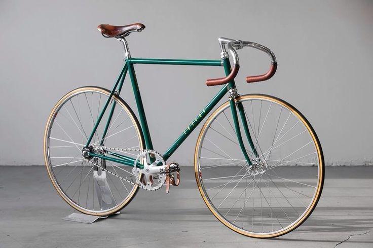 beautiful fixed gear bicycle.
