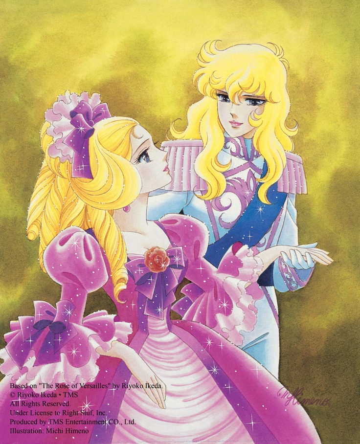 Oscar was like the perfect big sister to young Marie. The Rose of Versailles