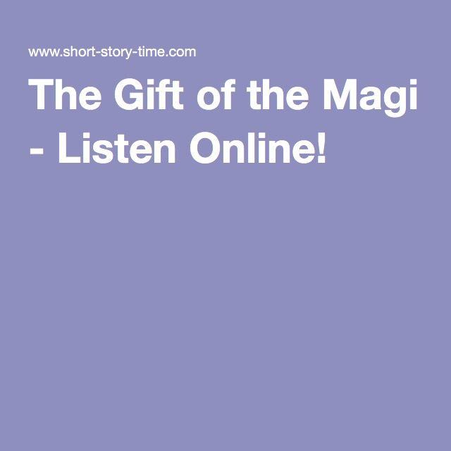 The Gift of the Magi - Listen Online!