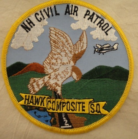 Hawk Composite Squadron, New Hampshire Wing CAP Patches