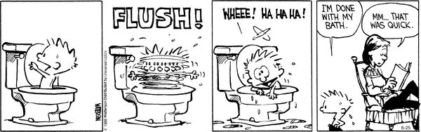 Calvin and Hobbes Comic Strip, June 25, 2016     on GoComics.com
