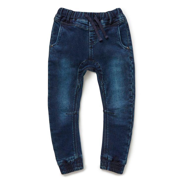 Shop now: Denim Terry Pant. #seedheritage #seedchild #boy