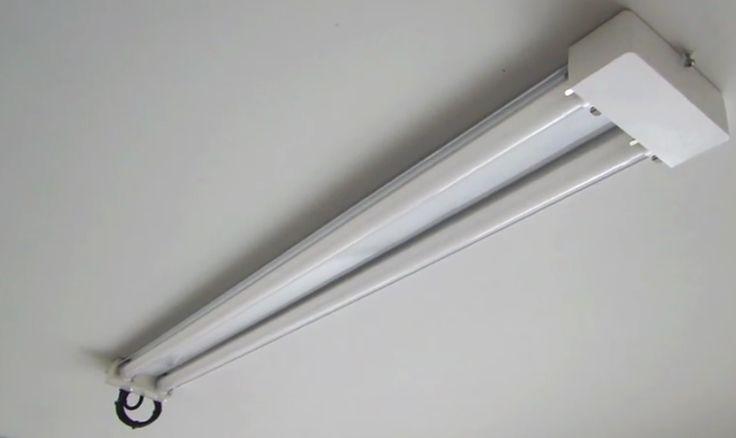 Garage LED Shop Light Fixture - Replaces Fluorescent