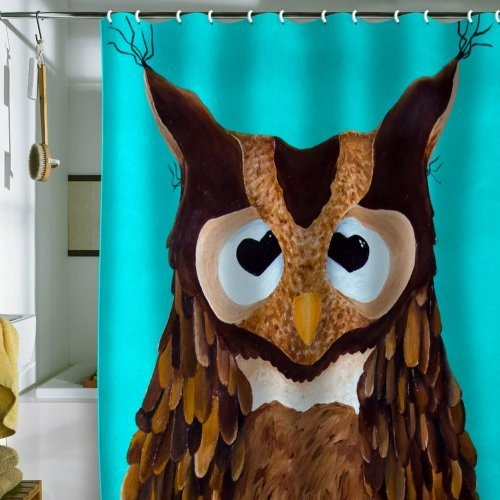 Bathroom Decor Owls: 25 Best Owl Shower Curtain And Accessories Images On