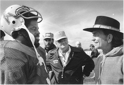 Three Texas Icons - Earl Campbell, Bum Phillips and Willie Nelson
