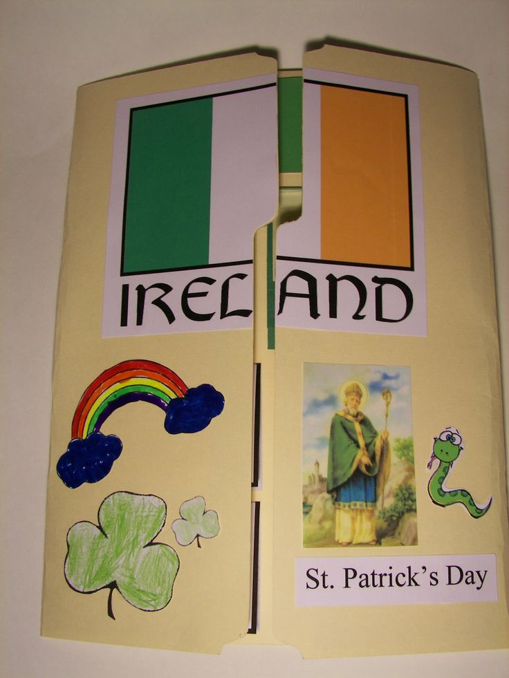 lapbook - Ireland