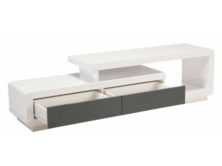 Mueble De Tv Moderno En Madera Lacada Ref: Artaban - $ 499.000 en MercadoLibre