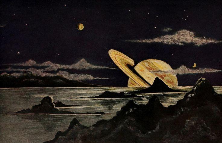 Bruno Hans Bürgel. Aus Femen Welten (Astronomy for All). 1920.