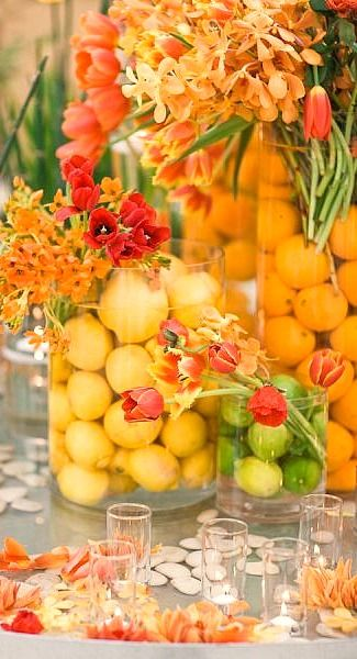 lemons, limes, and oranges....