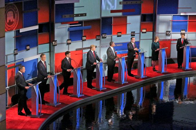 In Republican Debate, Candidates Battle Sharply on Immigration - The New York Times