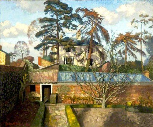 February Afternoon John Arthur Malcolm Aldridge (1905 - 1983)Tumblr