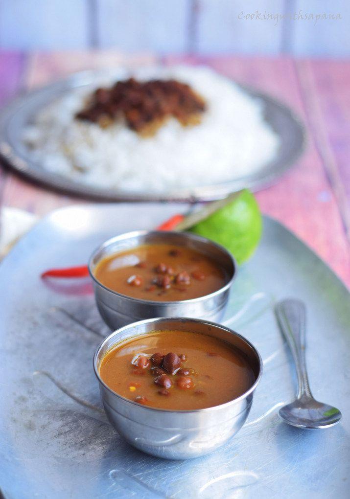kala chana curry,black chickpea curry,punjabi kala vhana