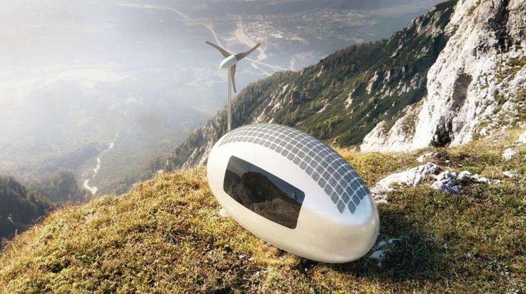 Портативная капсула для путешествий на край света | Lafox.Net