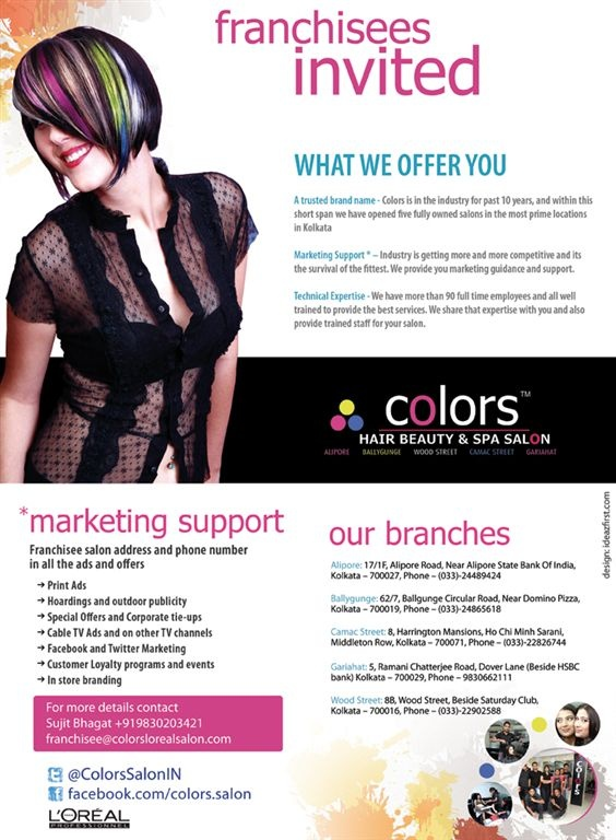 Salon International Ad for Colors Loreal Salon