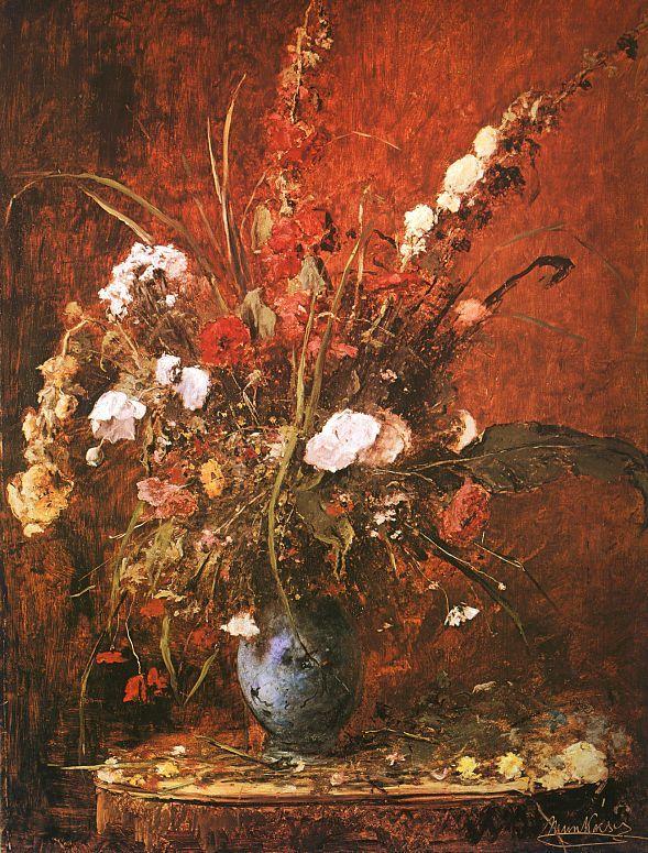 Munkácsy Virágcsendélet 1881 - Still life with flowers