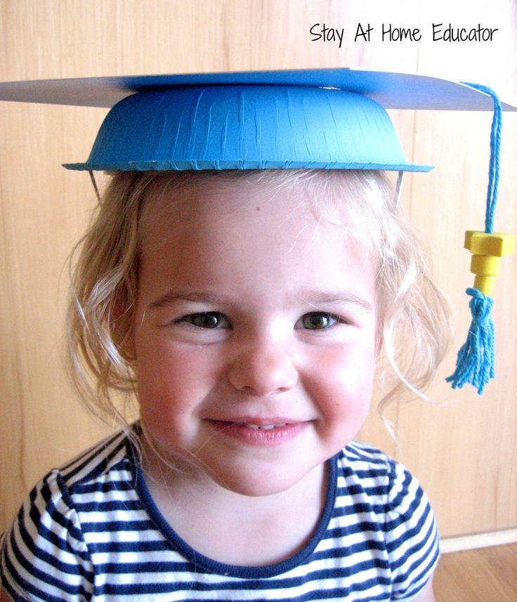 Preschool graduation caps - Stay At Home Educator