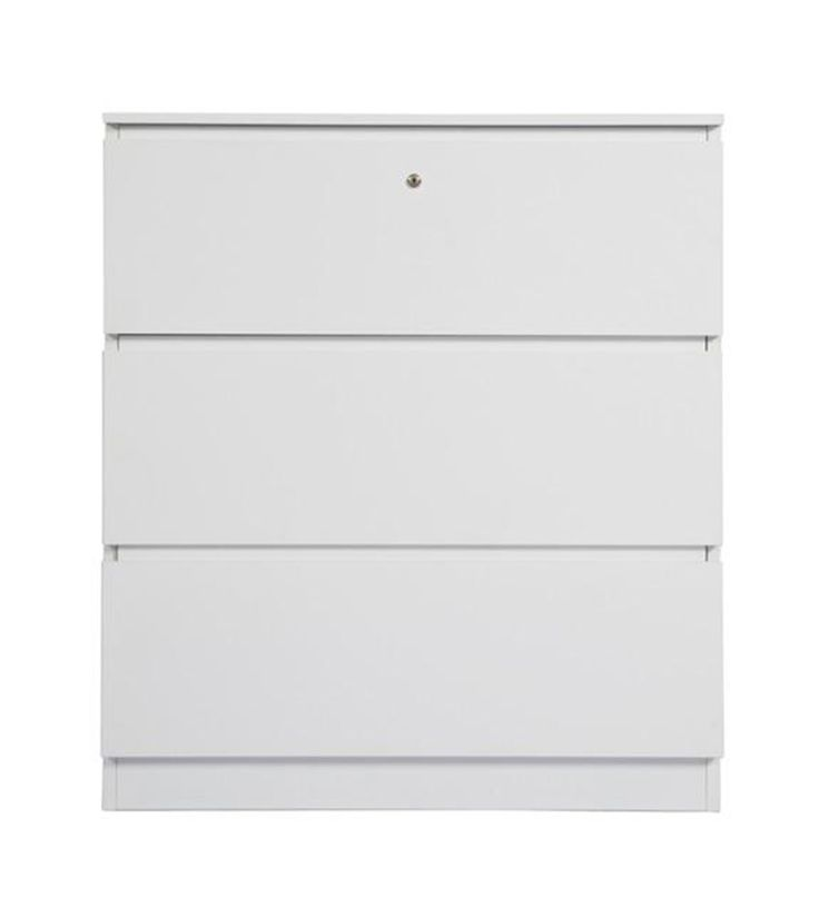 Lateral Filing Drawer for office space design with white powercoat. 2Store Range. #storage #office