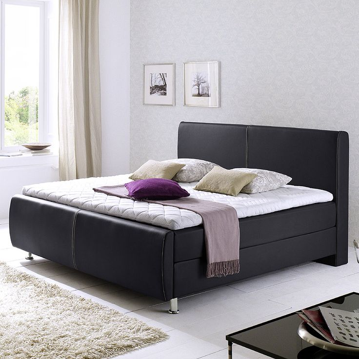 die besten 25 boxspringbett wei 180x200 ideen auf pinterest topper boxspringbett. Black Bedroom Furniture Sets. Home Design Ideas