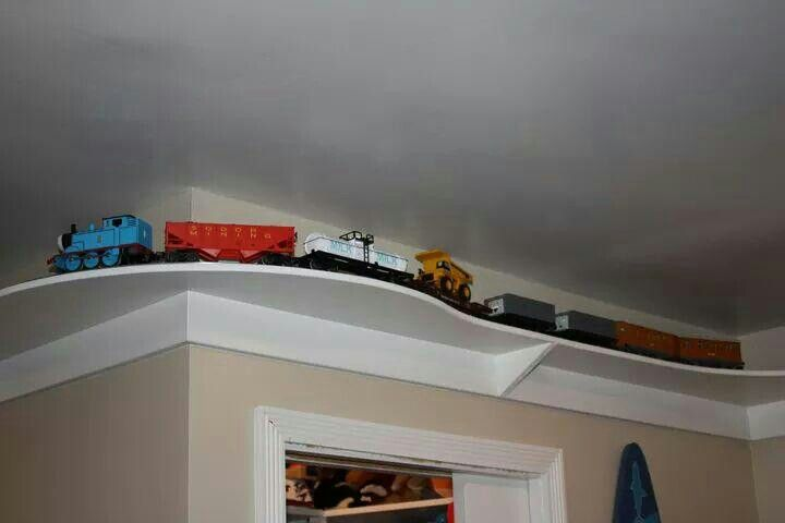 Built my kids a train for their room.