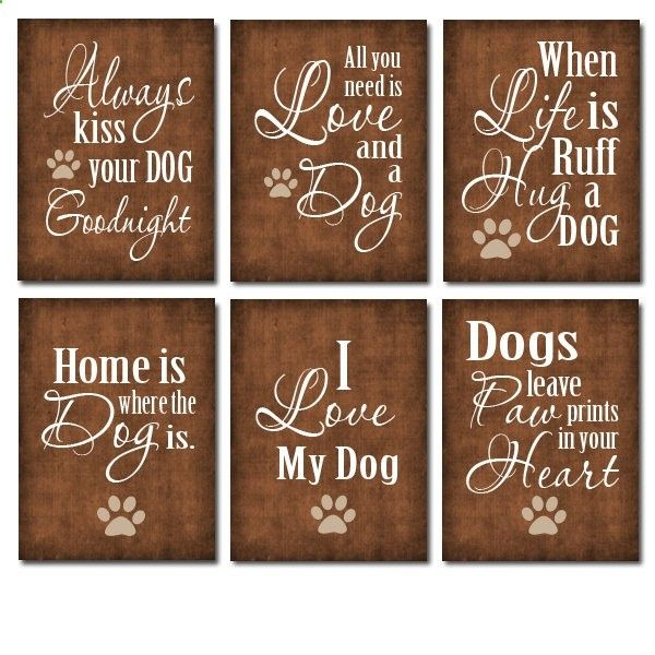 Super Cute for your Dog Room $20.00, via Etsy.                                                                                                                                                                                 More