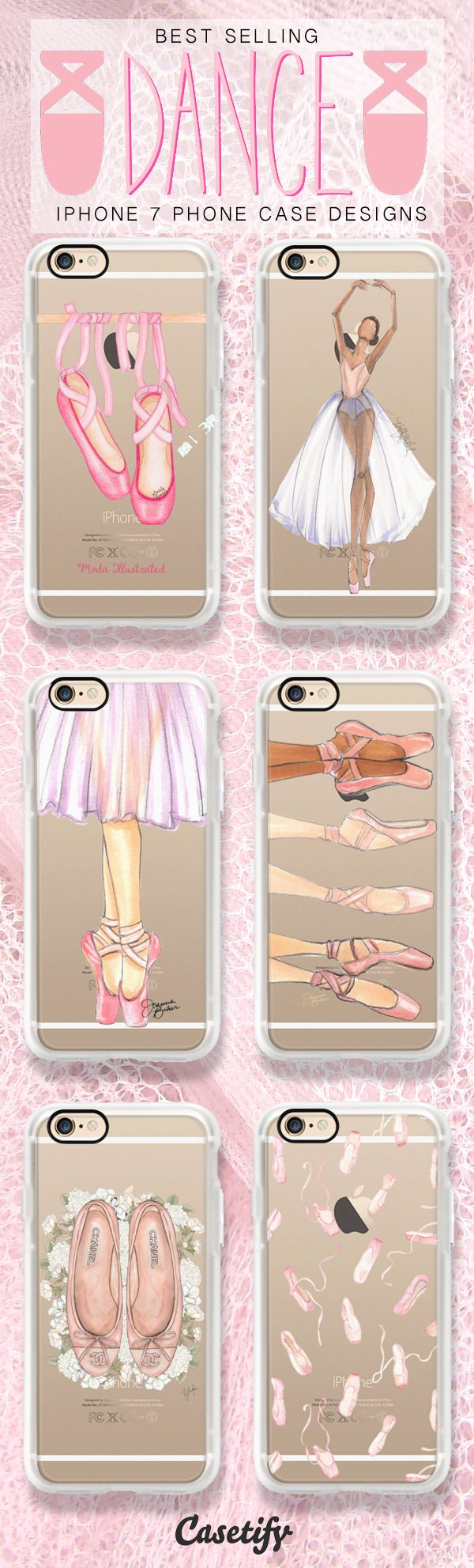 Dance like there is no tomorrow - shop these ballet iPhone 7 case designs here >>> https://www.casetify.com/artworks/oqe0TKQDzJ http://amzn.to/2qZ3RzU