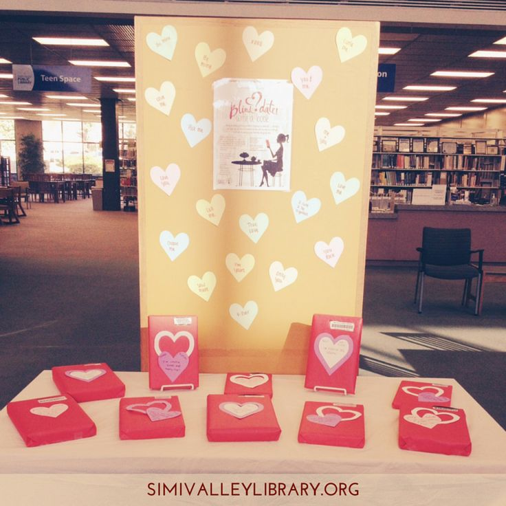 This February we'd like to set you up on a blind date... with one of our books! We've wrapped up titles from children's, teen, and adult fiction and non-fiction, leaving only the barcode revealed. Will your date be a dud or love at first site? We included 'rate your date' slips to get feedback on the selections. #svpl #librarydisplay #valentinesday #blinddate #february #simivalley #venturacounty