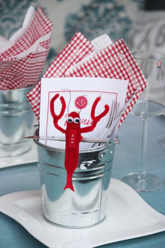 Kräftskiva / Rapujuhlat / crayfish party ideas