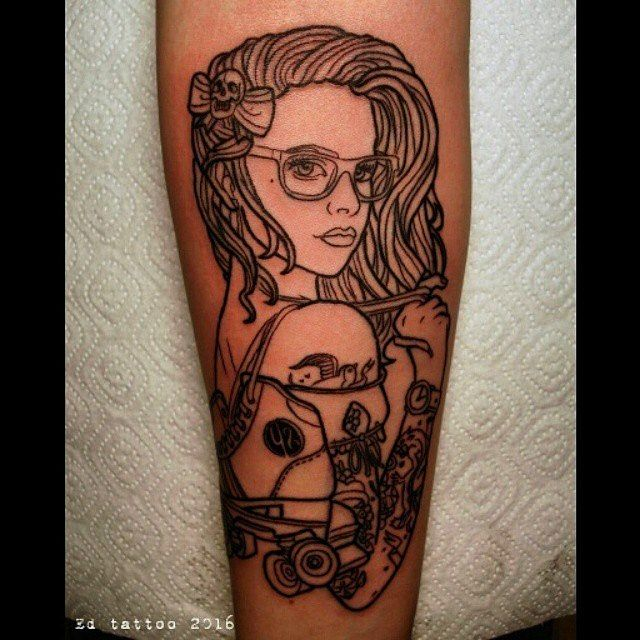 #Repost @edtattoo_ptz  Не первая татуировка в этом году однако первая фотка в процессе. По флешу Sam Philips  #edtattooptz #ptztattoo #lineworktattoo #neotraditionaltattoo #татувпетрозаводске #inkformer #blackwork #tattoos #neotrad #tattooedgirls #tattooedguys