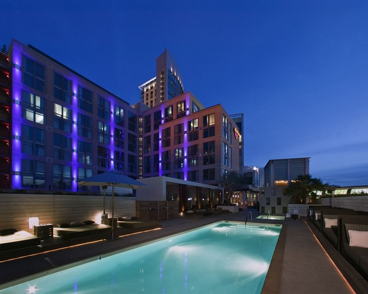 Rooftop pool at Hard Rock Hotel San Diego