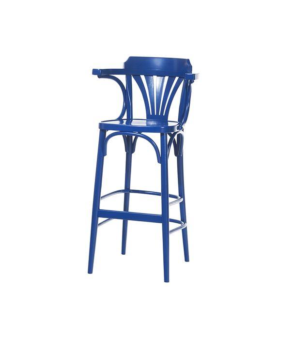 Barová židle 135   TON a.s. - Židle vyrobené lidmi