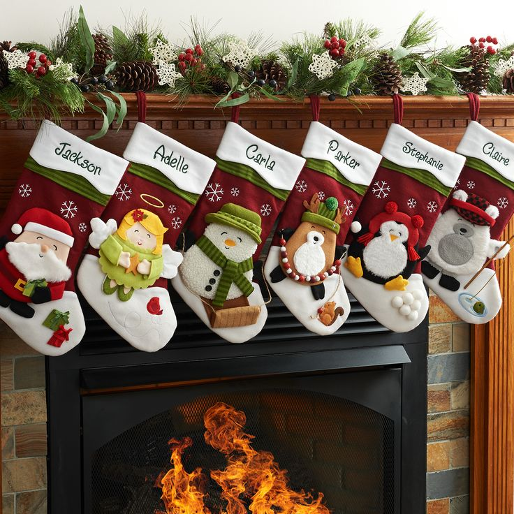 Catch the spirit of the season with a special personalized stocking.
