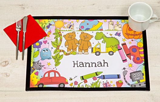 I Just Love It Cartoon Characters Personalised Placemat Cartoon Characters Personalised Placemat - Gift Details. Make mealtimes super-fun with these gorgeously illustrated children?s placemats featuring your little one?s Name. Our A3 size personalised kid? http://www.MightGet.com/january-2017-11/i-just-love-it-cartoon-characters-personalised-placemat.asp
