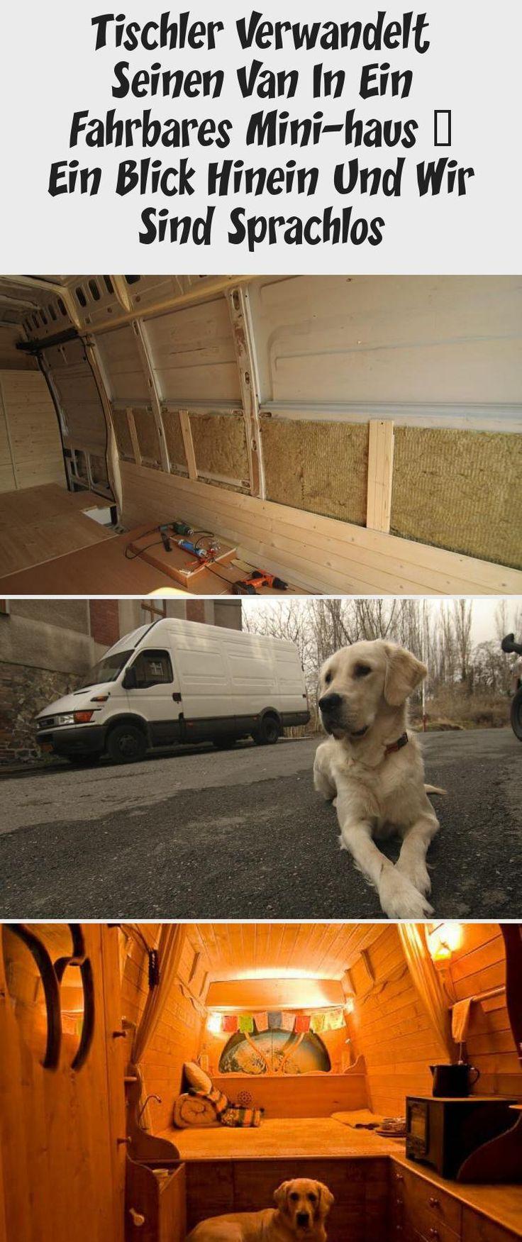 Carpenter verwandelt seinen Van in ein mobiles Mini-Haus – Ein Blick hinein und wir sind sprachlos   – Tango