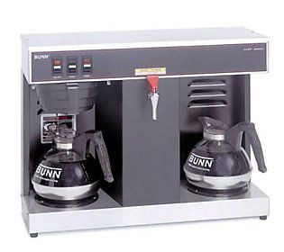BUNN VLPF 12-Cup Automatic Commercial Coffee Brewer, 2 Warmer