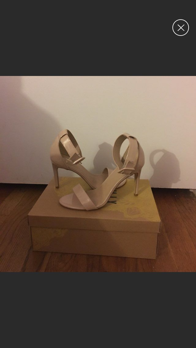 Designer Shoe Warehouse Nude High Heels - Mercari: BUY & SELL THINGS YOU LOVE