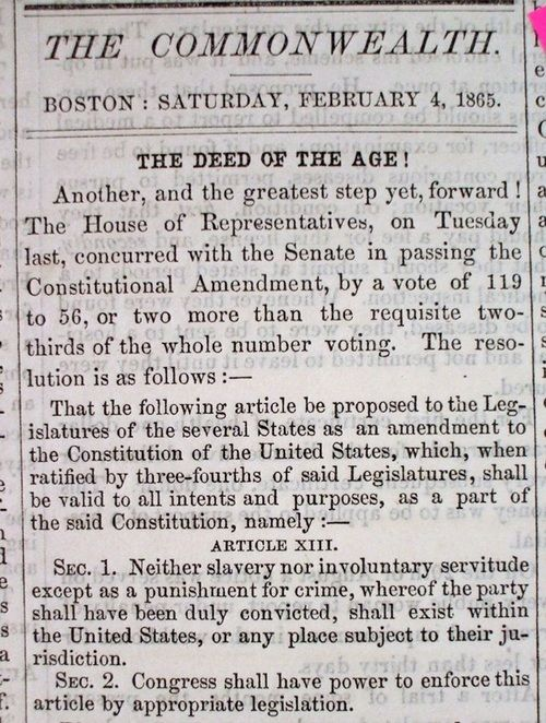 best civil war amendments images th amendment  13 amendment google search