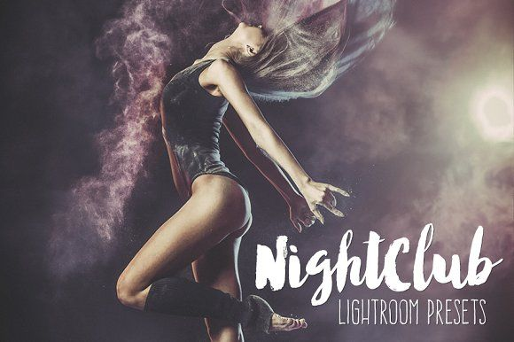 Nightclub Party Lightroom Presets by BeArt-Presets on @creativemarket